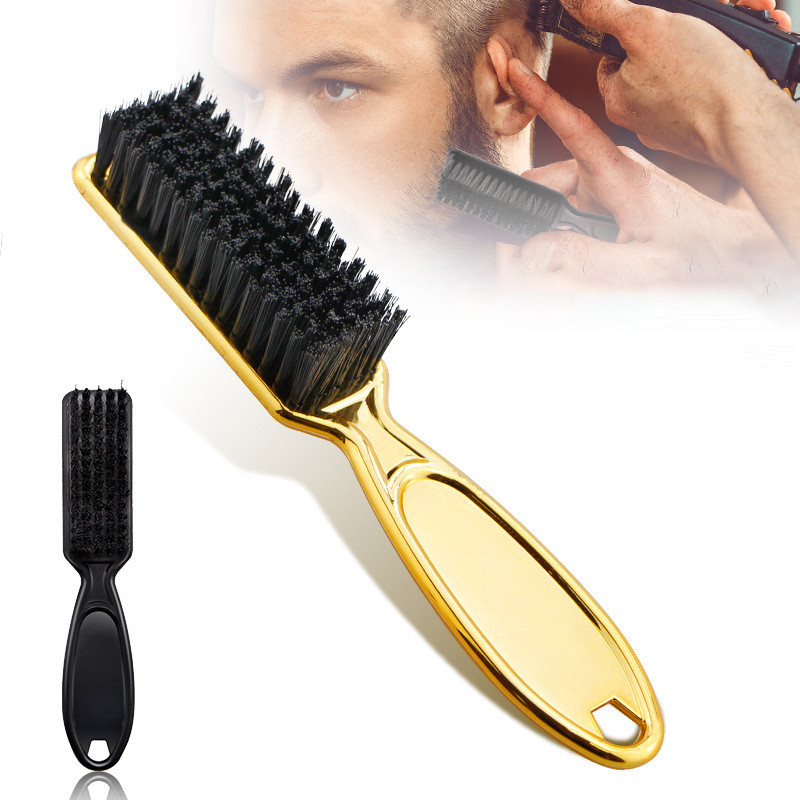 Plastic Handle Hairdressing Soft Hair Cleaning Brush Barber Neck Duster Broken Hair Remove Comb Hair Styling Tools Comb