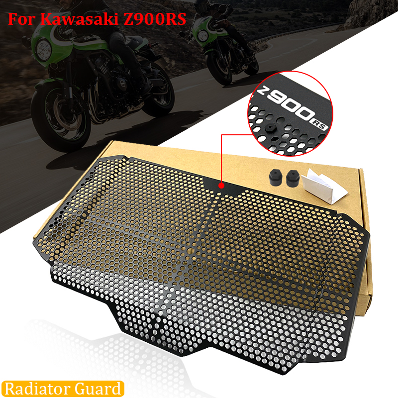 Z900RS Motorbike Radiator Grille Grill Protective Guard Cover Perfect For Kawasaki Z900RS ABS & Z900RS Cafe ABS 2018 2019 2020(China)