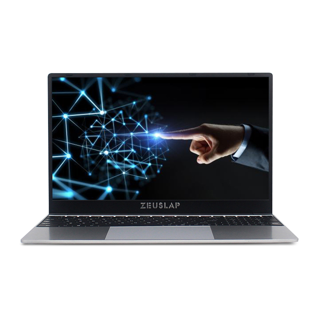 ZEUSLAP 15.6 Inch Intel Quad Core 8GB RAM 64GB 128GB 512GB 1TB SSD Notebook Windows 10 pro 1920X1080P Netbook Laptop 3