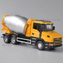 1:32 escala diecast veículo modelo brinquedos scania t420 concreto cimento mixer caminhão réplica miniatura