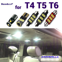 27 x Canbus LED Footwell Lamp+Interior overhead Map Dome Light Kits Bulbs for VW Volkswagen T4 T5 T6 Caravelle