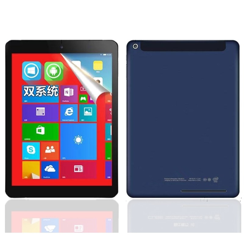 9.7 Inch Android4.4 + Windows 8.1(Dual System) Tablet PC  Quad Core  2GB+32GB 2048x1536 IPS 32-bit Operating System