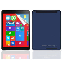9.7 inch Android4.4 + Windows 8.1(Dual System) Tablet PC Quad Core  2GB+32GB 2048x1536 IPS 32 bit Operating system