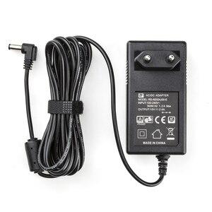 Image 1 - 3 เมตร AC/DC อะแดปเตอร์จ่ายไฟ LED Light & Monitor EU Plug 100 240V DC 15V 2.4A สำหรับ VILTROX VL 200T VL 300T VL 500T
