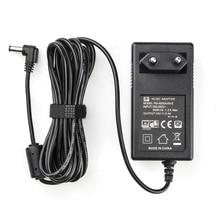 3 Meter Ac/Dc Voeding Adapter Led Light & Monitor Eu Plug Oplader 100 240V Dc 15V 2.4A Voor Viltrox VL 200T VL 300T VL 500T