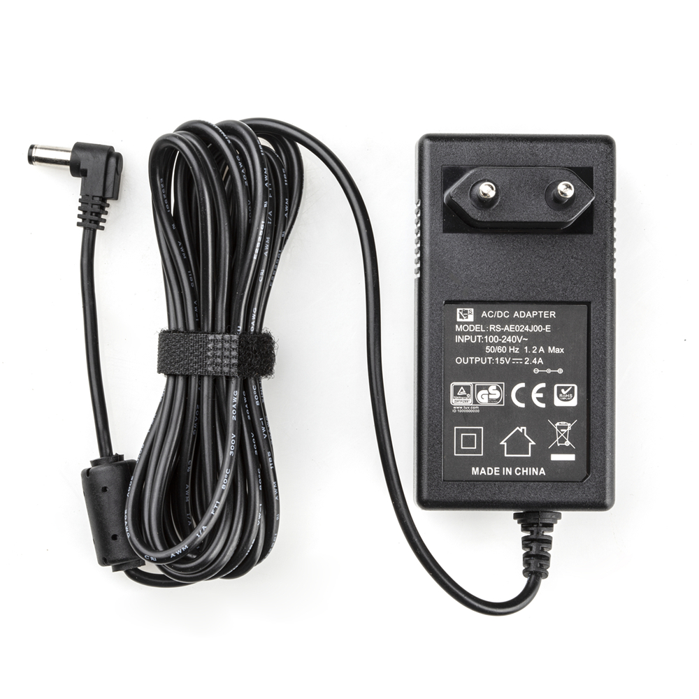 3 Meters AC/DC Power Supply Adapter LED Light & Monitor EU Plug Charger 100-240V DC 15V 2.4A For Viltrox VL-200T VL-300T VL-500T