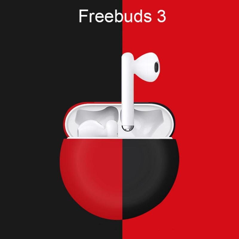 Similar For <font><b>Airpods</b></font> Case For Freebuds 3 Bluetooth Earphone Case Lote <font><b>Auriculares</b></font> Silicone Case Shocks Cover Gamer Accesorios image