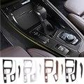 Крышка панели центрального управления автомобиля, Мультимедийная панель, рамка, Боковая Отделка, декоративная защита для BMW X1 F48 X2 F47 2016-2019
