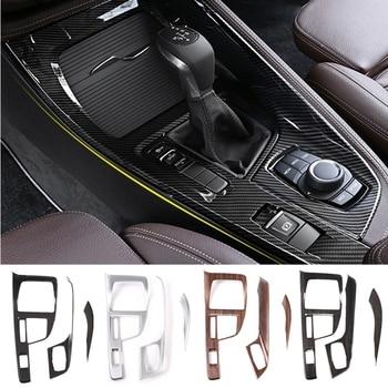 Автомобильная Центральная панель управления крышка мультимедийной панели рамка Боковая Отделка защита украшения для BMW X1 F48 X2 F47 2016-2019