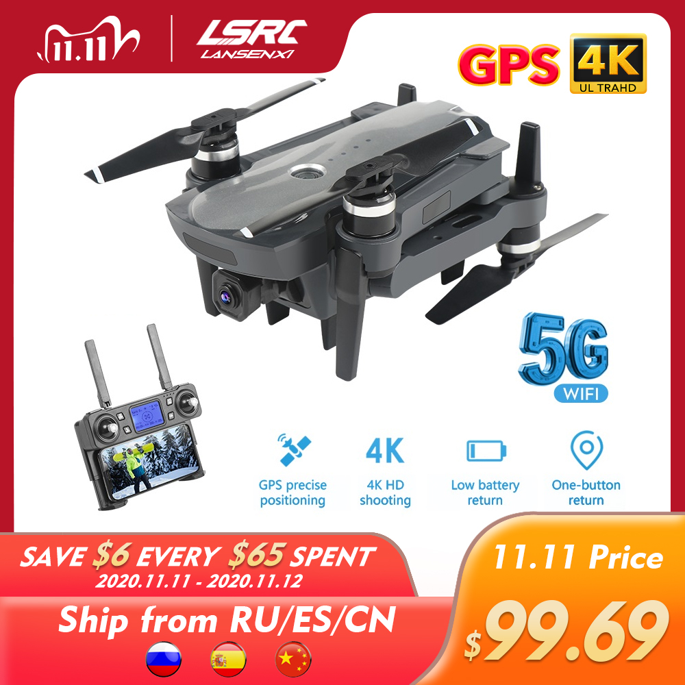 LSRC Gps Drone K20 5G HD 4K Camera Professional 1800m Image Transmission Brushless Motor Foldable Quadcopter RC Dron Gift|RC Helicopters| - AliExpress