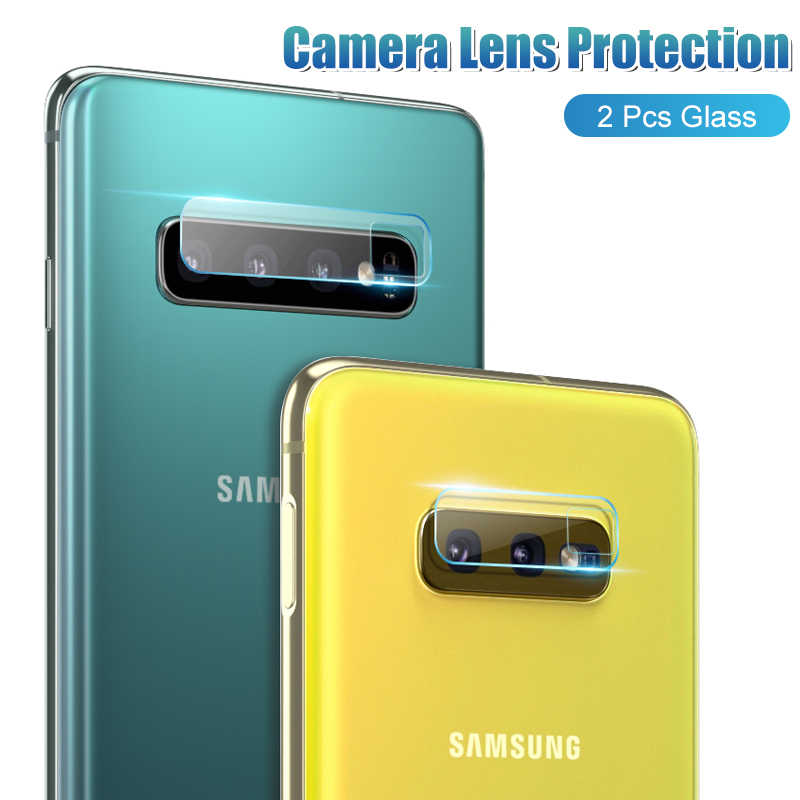 2Pcs Camera Protective Glass On For Samsung Galaxy S8 S9 S10 Plus S10e Lens Protector Glass Note 8 9 S10+ Tempered Glass Film