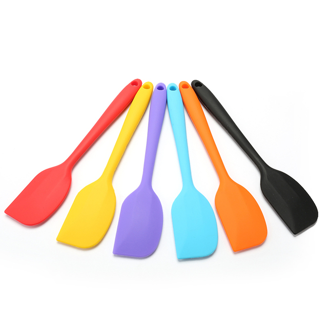 1pcs Silicone Scraper Cake Baking Tool Food Grade Non Stick Butter Cooking Silicone Spatula Rubber Shovel Bakery Tool