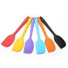 Utensilios de cocina espátula para pastel de silicona espátula de cocina espátula mezclador de crema de helado cuchara raspador crema