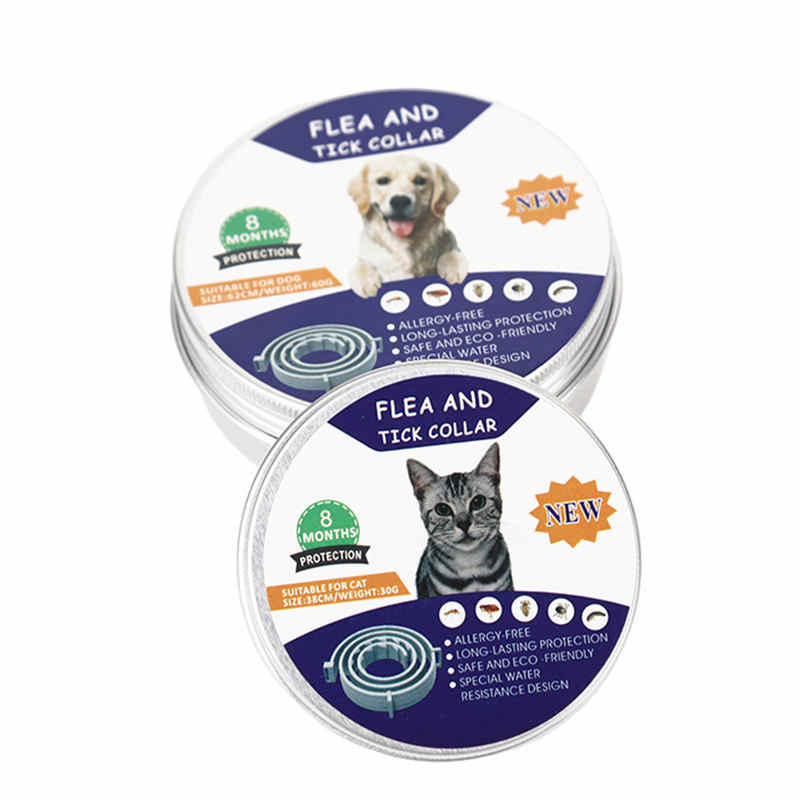 Flea & Tick Prevention Collar for Cats Dog Mosquitoes Repellent Collar Insect Control Collar Anti Mosquitoes Tools New Arrival