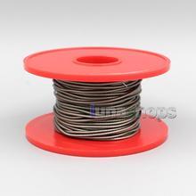 LN006510 экстремальные мягкие коричневые посеребренные сигнальные ПУ(не Tefl) наушники для наушников DIY объемный кабель 49*0,08 диаметр: 1,3 мм