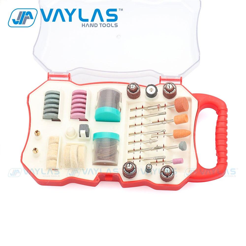 VAYLAS 82 Pcs Rotary Tool Bit Set Rotary Tool Accessories For Grinding Polishing Cutting