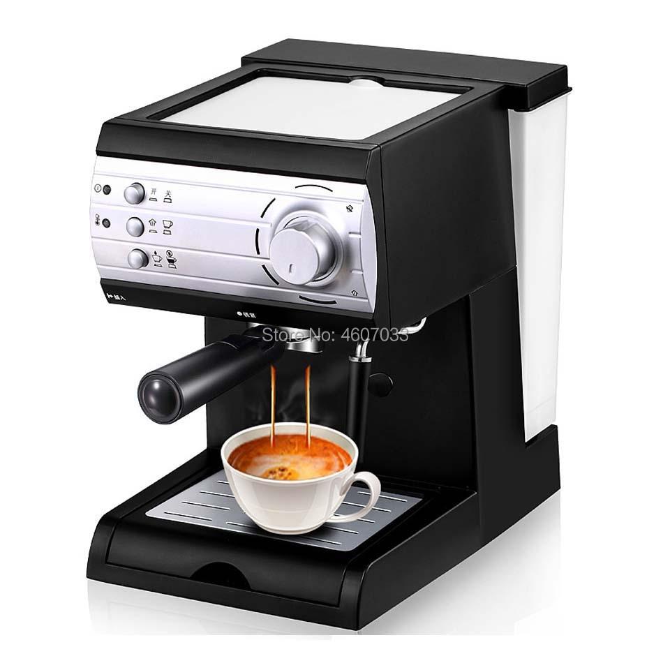 Semi-automatic Espresso Coffee Machine Italian 20 Bar High Pressure Steam  for Home office Comercial Milk Bubble Coffee Makers