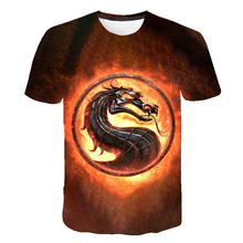 2021 New flame element men's and women's T-shirt summer fashion short-sleeved 3D round neck shirt shirt trendy men's T-shirt