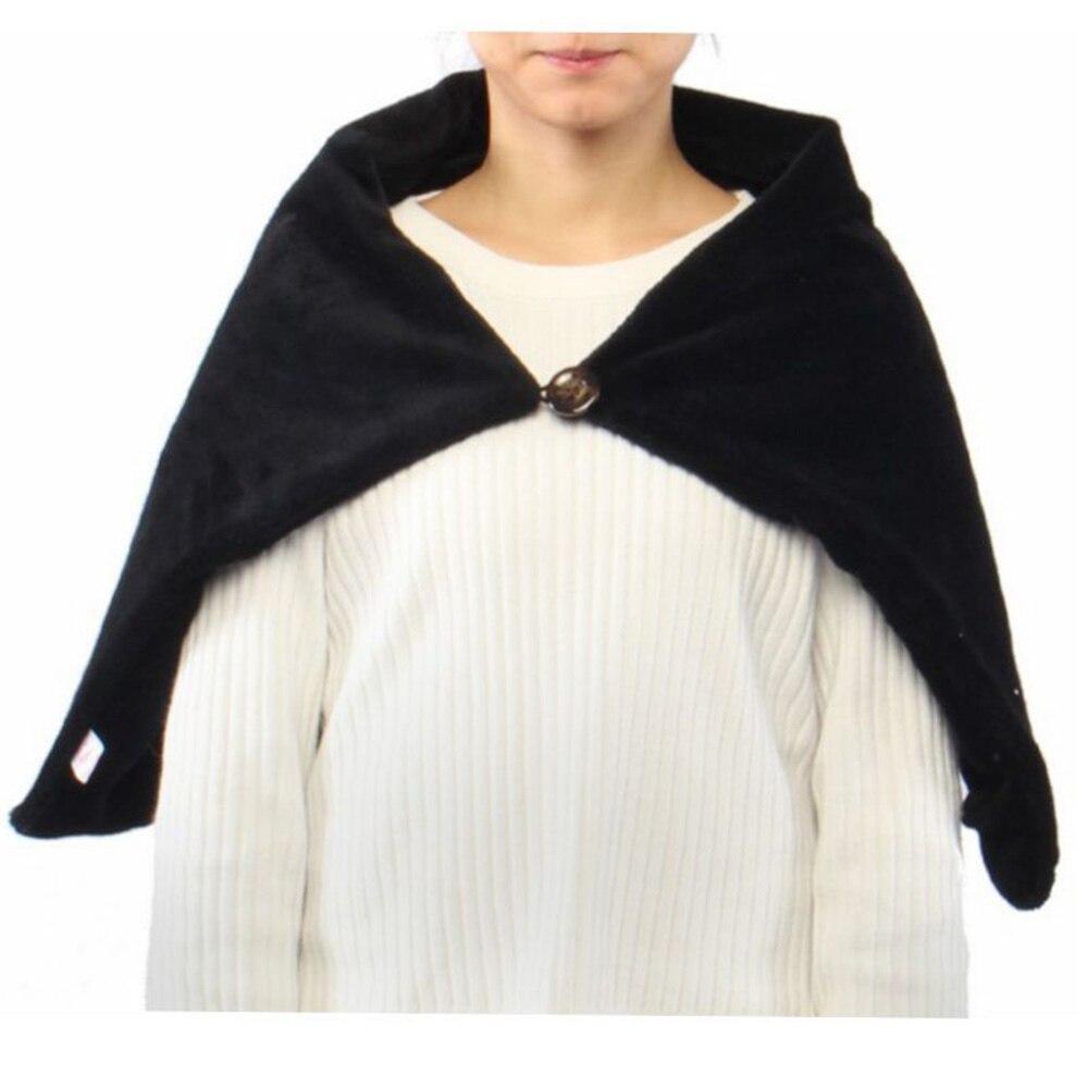 Winter Warm Neck Shoulder Heating Pad Electric Heated Soft Blanket Shawl GOOD