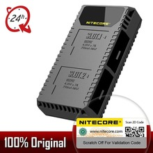Nitecore ugp5 para gopro hero 5 preto usb duplo slots carregador para gopro hero 5 gopro herói 6 gopro herói 7 bateria preta