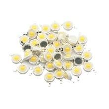 10-100pcs 1W 3W LEDs de Alta Potência LED Light-Emitting Diode Chip Quente Frio Branco Vermelho Verde Azul Amarelo RGB Espectro Completo LEVOU Contas