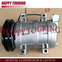 DKS-15CH sprężarki AC dla samochodów Mitsubishi Triton L200 MR1906 MR190619V 506011-7301 506211-6520 ACP877 506011-7303 506211-6523