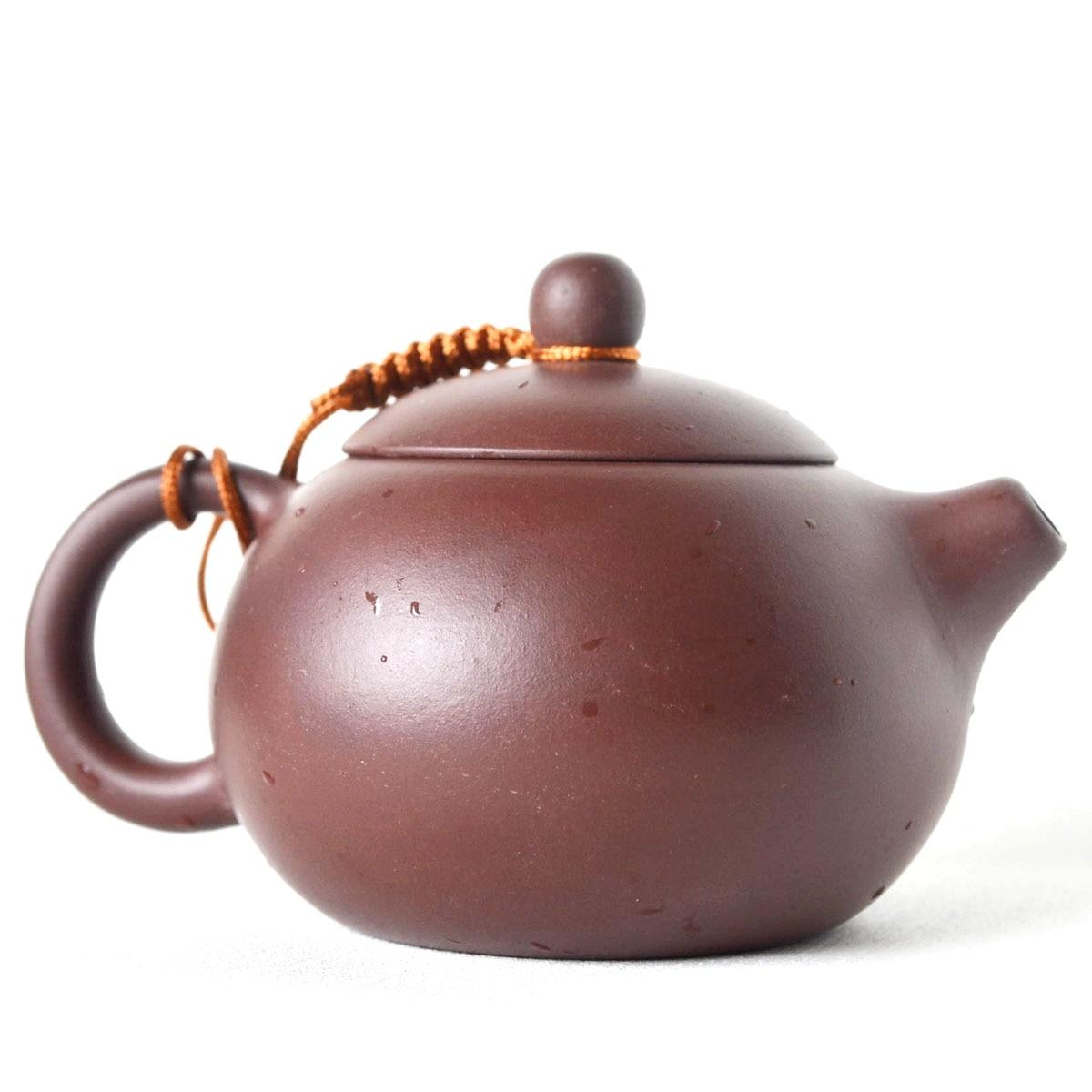 Chinese Yixing handmade xishi hu tea pot zisha purple clay teapot