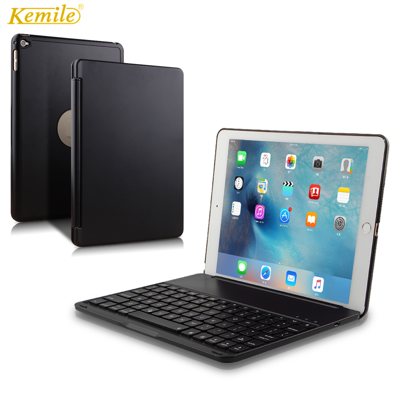 Top Flip Keyboard for Apple iPad 9.7 2017 2018 5th 6th Generation Bluetooth Keyboard Case for iPad Air 1 2 9.7 Pro 9.7 Cover