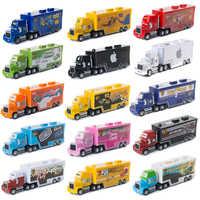 Figuras de Disney Pixar Cars 2 3 para niños, juguetes de la colección Uncle Mack, camión, Rayo McQueen, Jackson Storm 1:55, modelo de coche fundido a presión, regalos