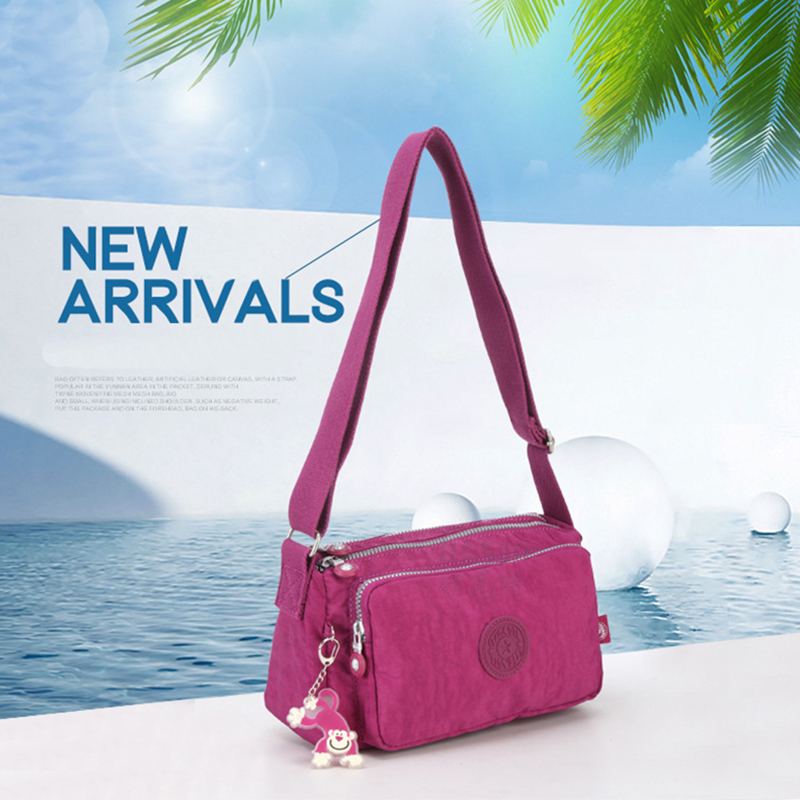 Kipled Original Practical Women's Casual Messenger Bag Nylon Shoulder Bag Ladies Bolsa Feminina Travel Bag Messenger Bag Unisex