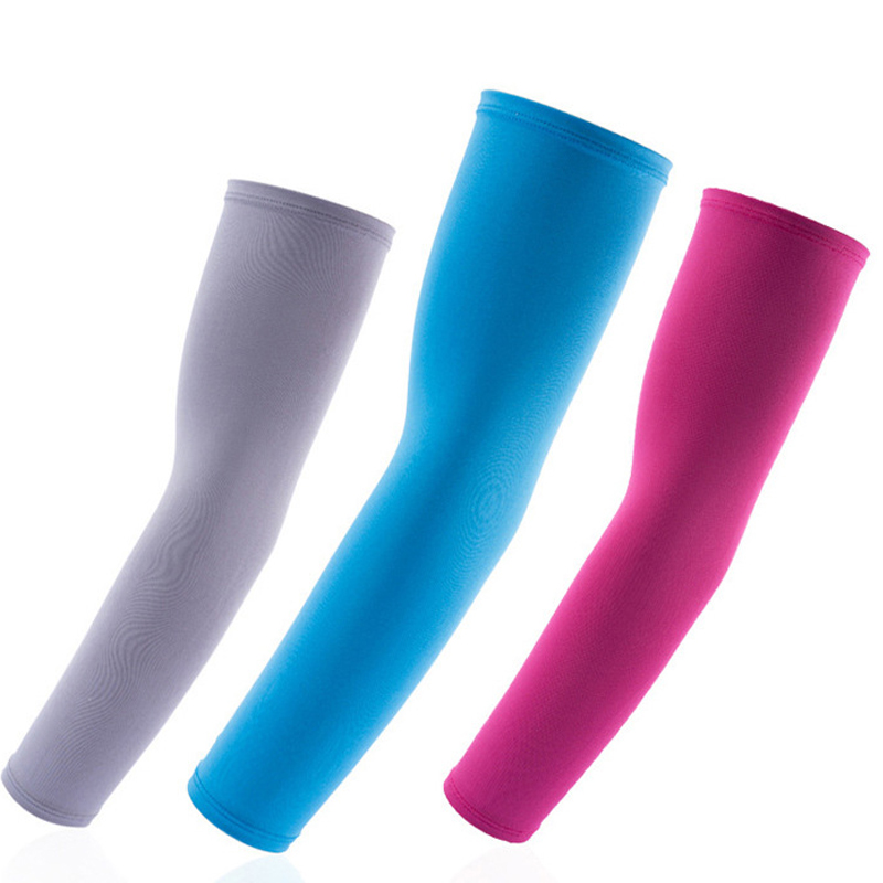 Armwarmer Arm Sleeves Warmers Summer Elastic Compression Cooling Arm Cover Moisture Wicking Riding Bicycle Basketball Baseball