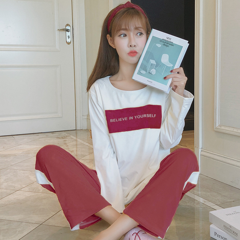 Pregnant Women Confinement Clothing Double Long Japanese Korean Hoodie WOMEN'S Dress Maternal Pajamas Maternal Lactation Garment