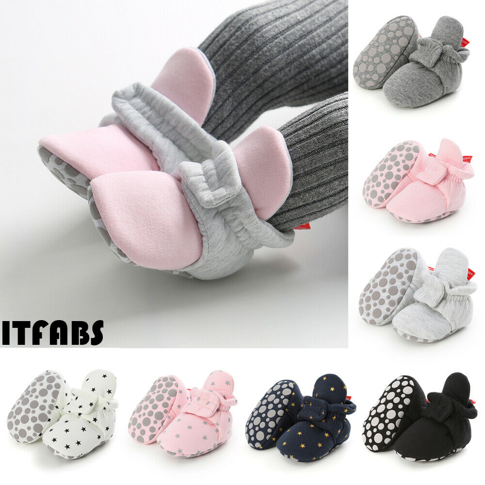 Newborn Baby Soft Warm Crib Shoe Infant Boy Girl Boots Booties Prewalker 0-18M
