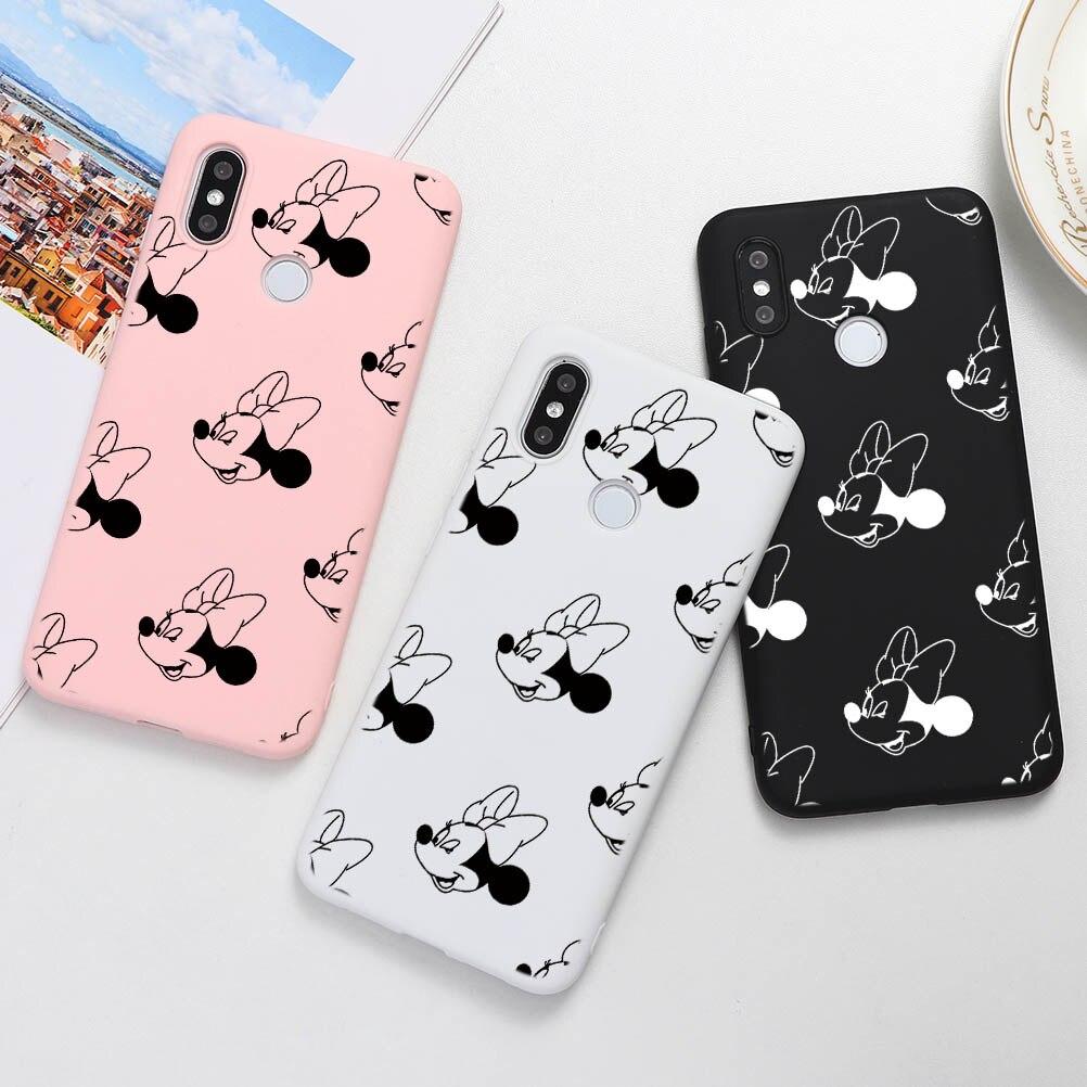 Cartoon Case For Xiaomi Redmi Note 7 S2 6 5 K30 K20 Pro Plus 7A 8A 6A 5A TPU Soft Case For Redmi Note 8 8T Pro Back Cover Coque