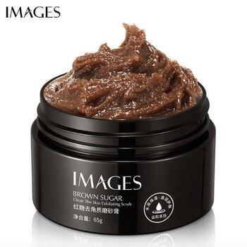 Exfoliante en Gel de azúcar marrón exfoliante de hidratación suave para el cuidado de la piel crema facial blanqueadora anti reparación envejecida exfoliante facial