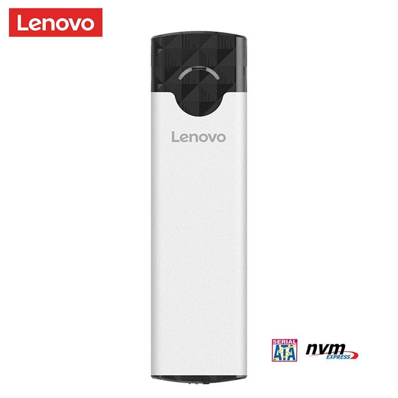 Lenovo M2 SSD Case M 2 to USB 3 1 Gen 2 NVMe SSD Enclosure for nvme PCIE M Key NGFF SATA B  B M  Key SDD Hard Disk Box adapter