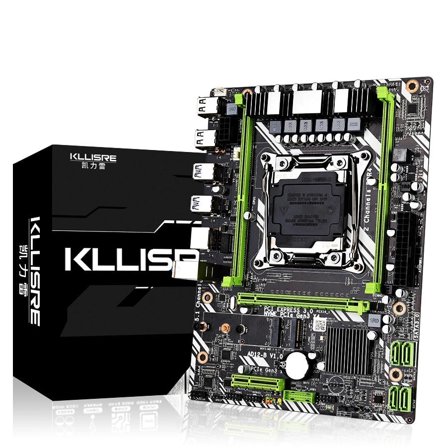 Kllisre X99 D4 motherboard slot LGA2011-3 USB3.0 NVME M.2 SSD support DDR4 memory and Xeon E5 V3 processor(China)