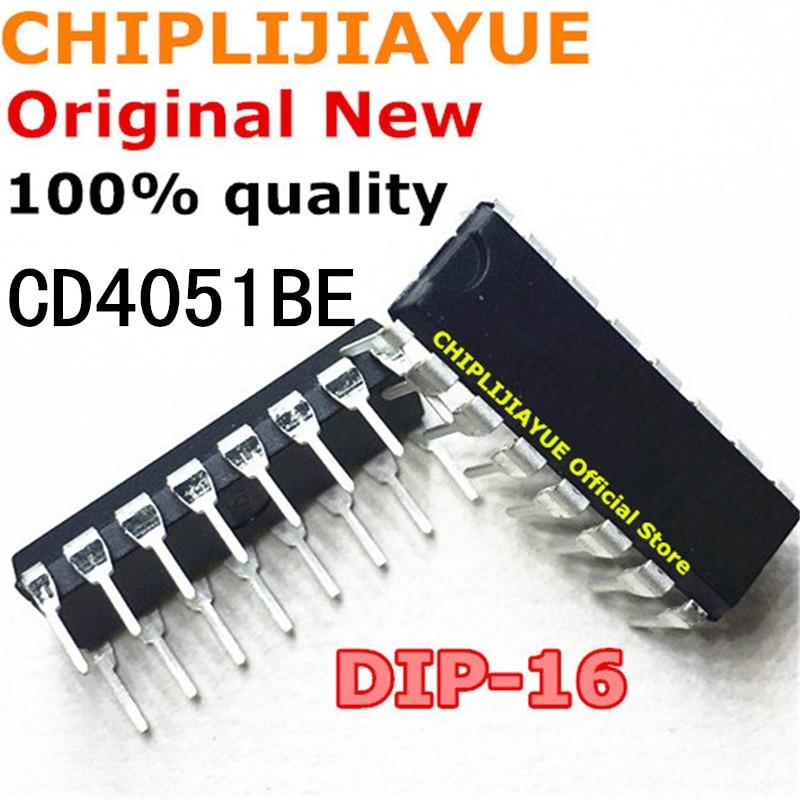 10-20PCS CD4051BE DIP16 CD4051 DIP CD4051B 4051 DIP-16 New And Original IC Chipset
