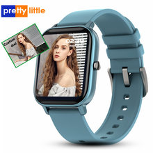 PP8 Smart Horloge Mannen Vrouwen Waterdicht Custom Dial Full Touch Screen Smartwatch Hartslagmeter Sleep Monitor Sport Polsband(China)
