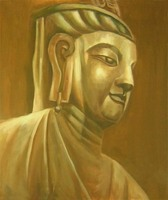 Hand Painted Buddha Painting Canvas Wall Décor Oil Painting Wall Paintings Home Decor Wall Art