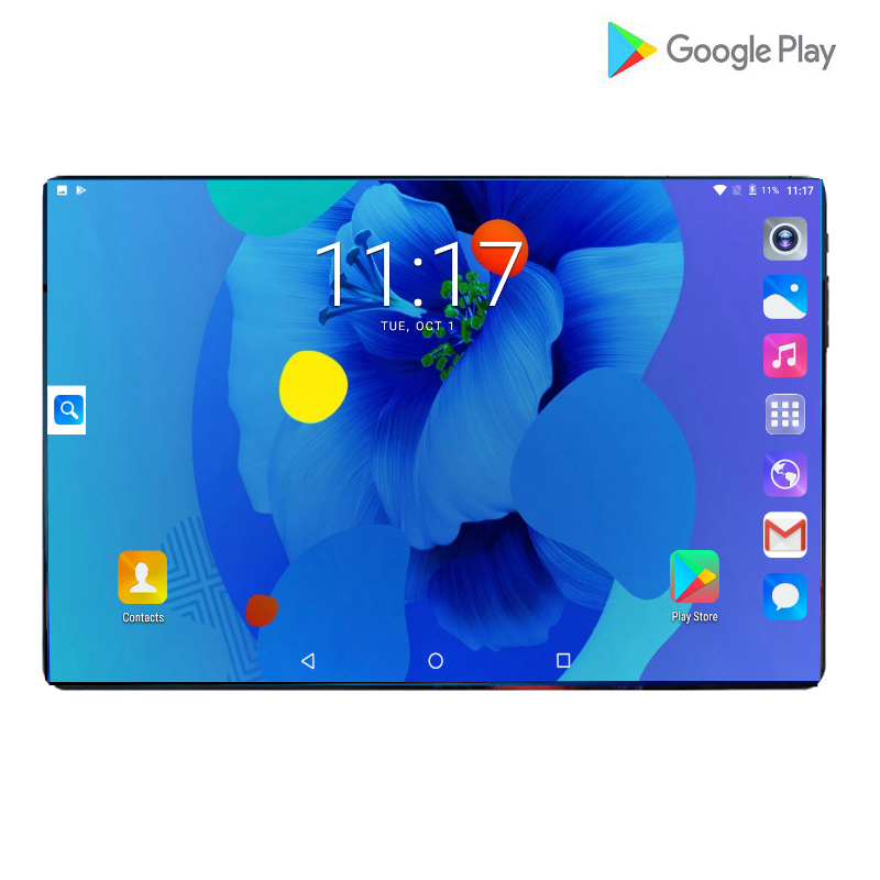 2020 Global Version 10 Inch Tablet PC 6GB RAM 128GB ROM 1280*800 IPS Dual SIM Card 4G LTE FDD Wifi Android 9.0 Tablet 10.1+Gifts