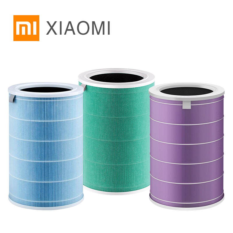 XIAOMI MIJIA Air Purifier 2 2S Pro Filter Spare parts Wash Cleaner Sterilization bacteria Purification PM2.5 Formaldehyde Wheel-in Air Purifier Parts from Home Appliances