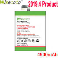 WISECOCO 4900mAh EF168 Battery For PPTV King7 King7S PP6000 Mobile Phone Latest Production High Quality Battery+Tracking Number
