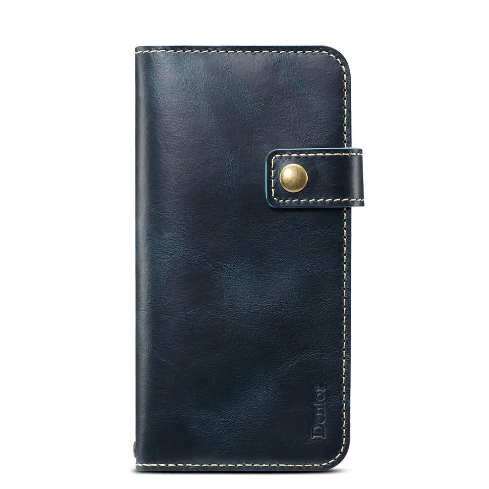 Premium Leather Magnet Button Flip Strap Case for iPhone 11/11 Pro/11 Pro Max 56