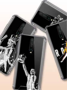 Mercury-Queen-Case Freddie Xiaomi Redmi Coque Soft-Covers Anti-Fall-Phone for Note-8t