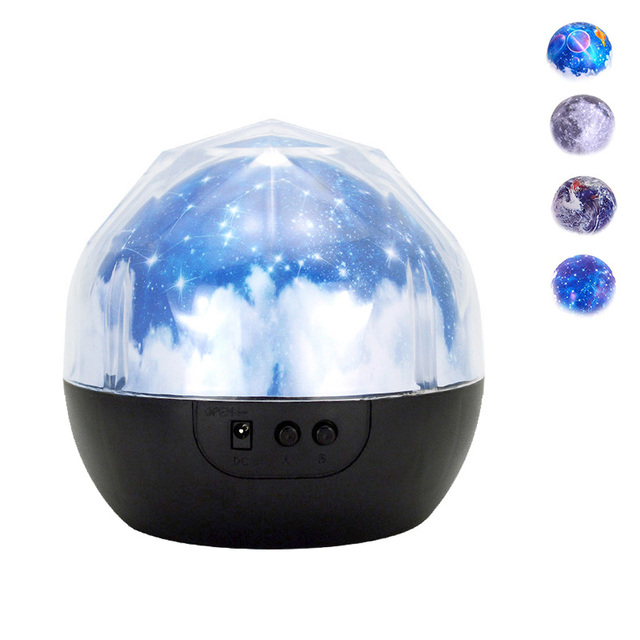 Creative Starry Sky Night Light Planet Magic Projector Earth Universe LED Light Colorful Flashing  Baby Christmas Gift 1