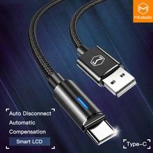10 sztuk/partia Mcdodo USB C 2A szybkie ładowanie USB C kabel type c QC3.0 kabel danych telefon ładowarka do samsung s9 + S8 huawei Mate przewód USB