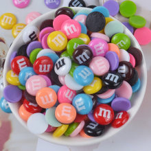 10pcs/lot Slime Charms Colorful Mixed Candy Resin Plasticine Slime Accessories Beads Making Supplies For DIY Scrapbooking Crafts(China)