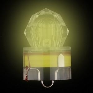 Newest Mini LED Waterproof Fishing Bait Light LED Deep Drop Underwater Fish Lure Flashing Lamp Light Bait Lure Squid Strobe