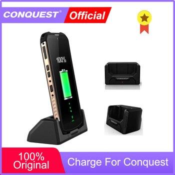 Перейти на Алиэкспресс и купить Док-станция для быстрой зарядки для CONQUEST S16/ S12Pro/F2/S8/S9/S11/ S1/S10 для прочного смартфона